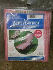 BETTER BOTTOM One Piece Replacement Cover for Aluminum chaise Lounge Chairs NIP
