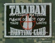 DAESH WHACKER JSOC GREEN BERETS SAS JTF2 KSK vel©®Ø PATCH: Taliban Hunting Club