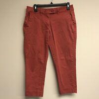 Tommy Hilfiger Women's Size 6 Capri Pants Cotton Blend Pink