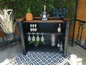 New Garden Bar / Outdoor Home Bar, Painted Black