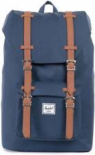 Little America Mid-Volume Backpack, Herschel, Navy/Tan