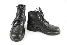 KICKERS Bottines Chaussures Lacets Cuir Noir T 39 Très bon état