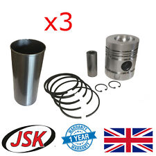 Pistons Liners Pins Rings & Circlips for JCB 2CX & 406 Perkins AD3.152 Engine