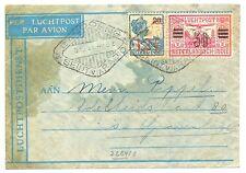 NED INDIE 1931-12-04  BS 67 b -CRASH COVER-BESCHADIGD- VLIEGRAMP -OOIEVAAR--