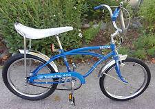 1975 Vintage Blue Vista Torino 400 Boys 3-speed Stingray Bicycle
