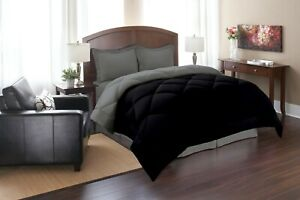 Goose Down Alternative Reversible Comforter Set , With Shams
