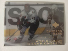 1996-97 Upper Deck Ice #130 Cameron Mann Canada World Junior Hockey Card