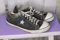 Converse Dark Gray Canvas 11 Men's Shoes
