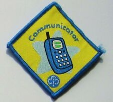 Brownie Guide Interest Badge - Communicator - Used