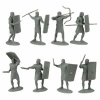 "TSSD IMPERIAL ROMAN LEGIONARY INFANTRY 20 PLASTIC SOLDIER FIGURES 2.5"" FREE SHIP"