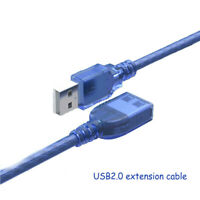 USB 2.0 Data Cord Aux Cable USB 2.0 Extension Cable Type A to USB Male Adapter