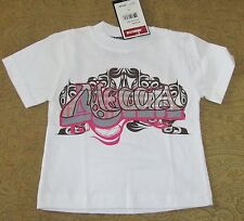 MECCA Boys' Short Sleeve Graphic T-Shirt  White  2T  NWT