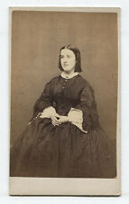 CDV YOUNG WOMAN LOOKING LIKE A BOY IN  DUTCH PAINTING. NEW LONDON, CONNECTICUT.