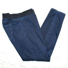 Gap Maternity Pull On Legging Jeans Size 30 Regular Black Blue Stretch