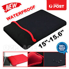 "15"" 15.6"" BLACK NEOPRENE LAPTOP NOTEBOOK SLEEVE CASE"