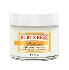 Burt's Bees Night Creme, Radiance, with Royal Jelly, 2 oz.
