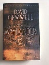 Waylander Edition Collector 20eme Anniversaire David Gemmell