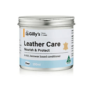 Gilly's Leather Care - 200ml tin