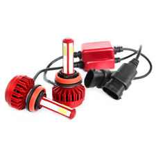 4 - caras CREE LED HeadLight Kit H4 H7 9005 HB3 9006 HB4 H11 H9 6000k luz blanco