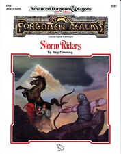 FORGOTTEN REALMS STORM RIDERS FRA1 +MAP NM! DUNGEONS & DRAGONS TSR 9281