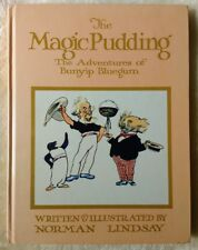 The Magic Pudding, written and illustrated by Norman Lindsay. HC. 1974. Large HC
