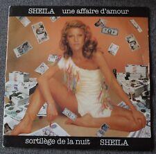 Sheila , une affaire d'amour / sortilege de la nuit, SP - 45 tours