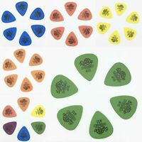6 Pcs/Set Guitar Picks - Dunlop Tortex 0.50 / 0.60 / 0.73 / 0.88 / 1.00 / 1.14