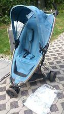 Buggy Quinny ZAPP inkl. Regenhaube in blau, leicht, kompakt, Kinderwagen