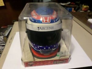 New DANICA PATRICK TARGENT HONDA RACING BELL MINI HELMET Futaba Troy Lee Design