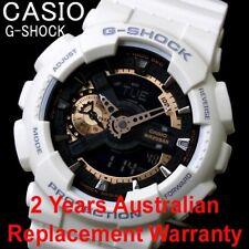 CASIO G-SHOCK MEN WATCH GA-110RG-7A WHITE x ROSE GOLD GA-110RG-7ADR 2Y WARRANTY
