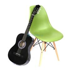 "38"" Acoustic 6 String Guitar For Beginners School Student Adults Black Kids Gift"