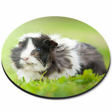 Round Mouse Mat - Awesome Guinea Pig Pets Animals Cute Office Gift #8757