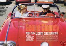Coupure de presse Clipping 1997 George Clooney  (6 pages) & Céline Balitran