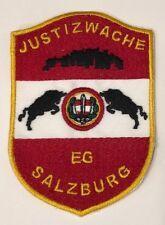 Aufnäher Justizwache - Justizwache EG Salzburg