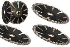 5 Diamond Turbo Convex Saw Blade 42 Pieces Granite Concrete Stone Sink Cutter