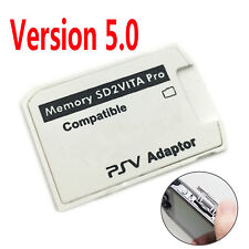Version 5.0 Sd2vita SD Micro Memory Card Holder Adapter for PS Vita Henkaku 3.60