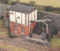 Loco servicing depot - Ratio 540 - OO/HO Building Kit - P3