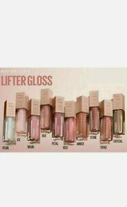 Maybelline Lifter gloss Lip Pumping Gloss. Hyaluronic Acid 5.4ml New. Free P&P
