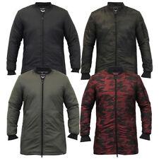 Brave Soul Long Quilted Coats & Jackets for Men