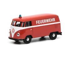 Schuco 1/64 Volkswagen T1 box van Feuerwehr 452016100