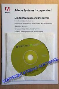 Adobe Dreamweaver 8 Windows english/deutsch - DVD mit Seriennummer - incl. MwSt