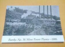 1906 Windber Pa. Eureka #36 Coal Mine Power Plants & More Postcard Repo