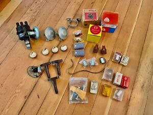 Restored Bosch ZV/PAU4R5 Big Cap Distributor Lot - VW 40hp NOS Bug Beetle Bus