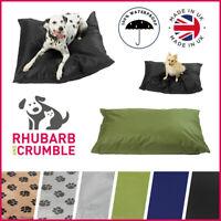 Dog Bed Cushion Mattress Pillow Puppy Waterproof Travel Pet Basket Washable