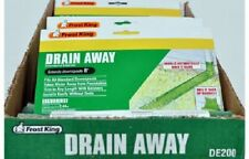 """Thermwell 6 Pack, Drain Away 8' x 7"""", Green, Flexible Manual Downspout Extender"""