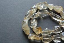 Genuine Polished Citrine Gemstone Bead Assorted Natural