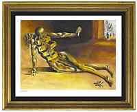 """Salvador Dali Signed/Hand-Numbr Ltd Ed""""Anthropomorphic Cabinet"""" Print (unframed)"""
