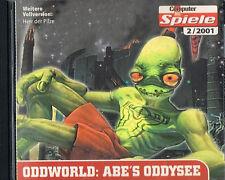 Oddworld-Abe 's Oddysee rare alemana PC version!!! Top