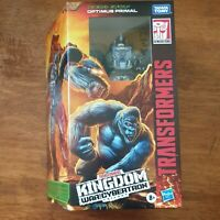 Transformers War For Cybertron Kingdom OPTIMUS PRIMAL Figure BRAND NEW