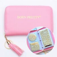 BORN PRETTY 24 Slots Nail Stamping Plate Holder Case Template Organizer
